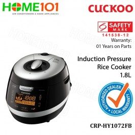 Cuckoo Induction Pressure Rice Cooker 1455W 1.8L CRP-HY1072FB