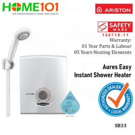 Ariston Aures Series Electric Instant Water Heater SB33