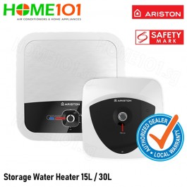 [Multi Model] Ariston Storage Water Heater - 15L - 30L [LUX 15][LUX 30][RS15][RS30]