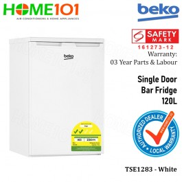 Beko Single Door Bar Fridge 120L [TSE1283]