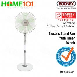 Booney Stand Fan 16 w/Timer BSF1602M