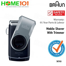 Braun Mobile Shaver With Trimmer M90