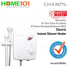 Champs Electric Instant Shower Heater Accord