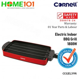 Cornell Electric Indoor BBQ Grill 1800W CCGEL39N