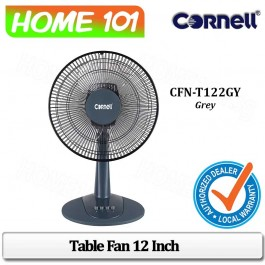 Cornell Table Fan 12 Inch CFN-T122GY