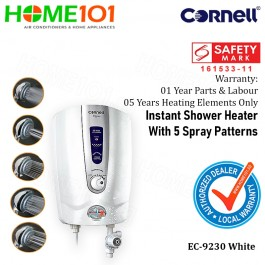Cornell Electric Instant Shower Heater  EC9230