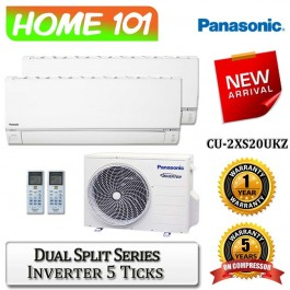 Panasonic Dual Split Series Multi Split AirCon [System 2] Ava in CU-2XS20UKZ