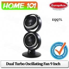 Europace Dual Turbo Oscillating Fan 9 EQQ-7L