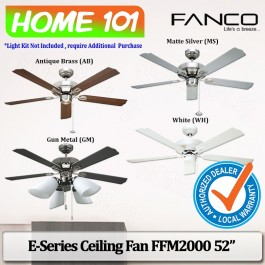 Fanco E-Series Ceiling Fan FFM 2000 52