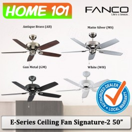 Fanco E-Series Ceiling Fan Signature-2 50