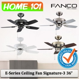 Fanco E-Series Ceiling Fan Signature-3 36