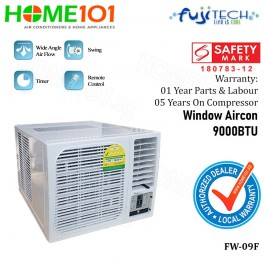 Fujitech Window Air Con 9000BTU FW-09F
