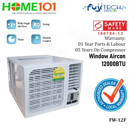 Fujitech Window Air Con 12000BTU FW-12F