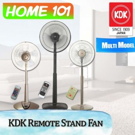 KDK Remote Stand Fan [N30NH] [P30KH] [M40KS] With 1 year Local Warranty
