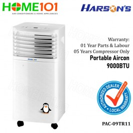 Harson's Portable Aircon 9000BTU PAC-9TR11 (Stock arr on 6 June)