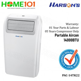 Harson's Portable Aircon 14000BTU PAC-14TK22 (Stock arr on 6 June)