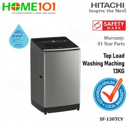 Hitachi Fully Automatic Top Load Washer 13.0KG SF-130TCV