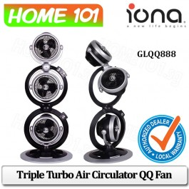 Iona Triple Turbo Air Circulator QQ Fan GLQQ-888