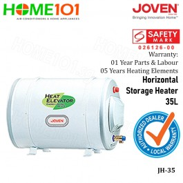 Joven Horizontal Electric Storage Water Heater 35L JH35