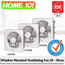 KDK Wall Mount Exhaust / Ventilation Fan 20/25/30cm 20AUH/25AUH/30AUH