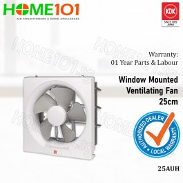 KDK Wall Mount Exhaust / Ventilation Fan 25 cm 25AUH
