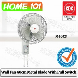 KDK Wall Fan 40cm W/Metal Blade M40CS