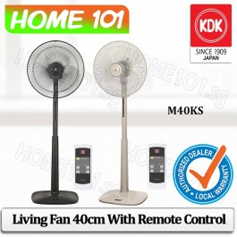 KDK Living Fan 40cm w/Remote Control M40KS