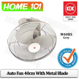 KDK Auto Fan 40cm with Metal Blade M40RS