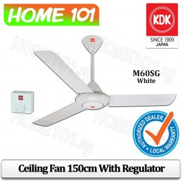 KDK Ceiling Fan 150cm w/ Regulator M60SG