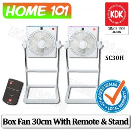 KDK Box Fan 30cm with Remote Control and Stand SC30H