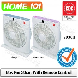 KDK Box Fan 30cm with Remote Control SD30H