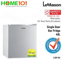 LeMaison Single Door Bar Fridge 48L LBF48