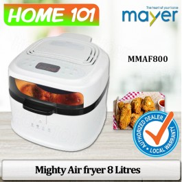 Mayer Mighty Air Fryer 8.0 Litres MMAF800