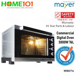 Mayer Commerical Digital Oven 3000W 76L MMO76