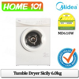 Midea Tumble Dryer Sicily 6.0KG MD610W