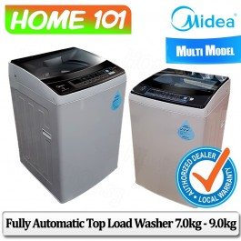 Midea Top Load Washer 7.0KG - 9.0KG [MT-750B][MT-850B][MT-950B]