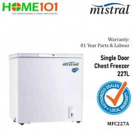 Mistral Chest Freezer 227L MFC227A