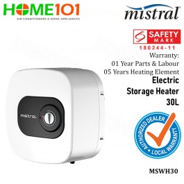 Mistral Storage Water Heater 30L MSWH30