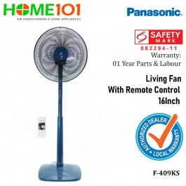 Panasonic Living Fan 40cm With Remote Control F-409KS