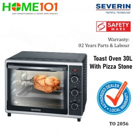 Severin Toast Oven With Pizza Stone 30L TO 2056