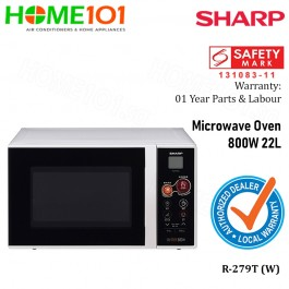 Sharp Microwave 22L R-279T (W)