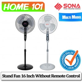 Sona Stand Fan 16 inch without Remote Control