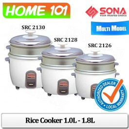 Sona Rice Cooker 1.0L to 1.8L