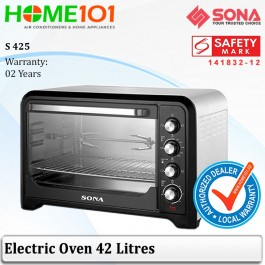 Sona Electric Oven 42L W/Rotisserie Spit Grilling S 425