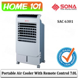 Sona Air Cooler 7L Remote Control SAC6301