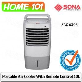 Sona Air Cooler 10L Remote Control SAC6303