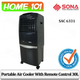 Sona Evaportative Air Cooler 30L Remote Ctrl SAC6331