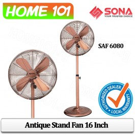 Sona Antique Stand Fan 16 Inch SAF 6080