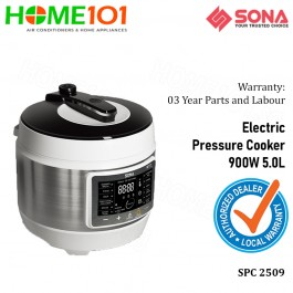Sona Electric Pressure Cooker 900W 5.0L SPC2509