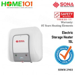 Sona Electric Storage Water Heater 15L  SSWH2903